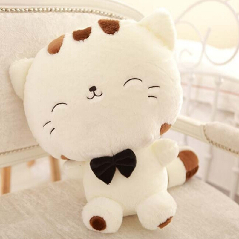 Cartoon Doll Cat Plush Stuffed Cat Toys 18CM Birthday Gift Kids Toys Plush Dolls For Girl Sucker Car & Room Doll JK993316