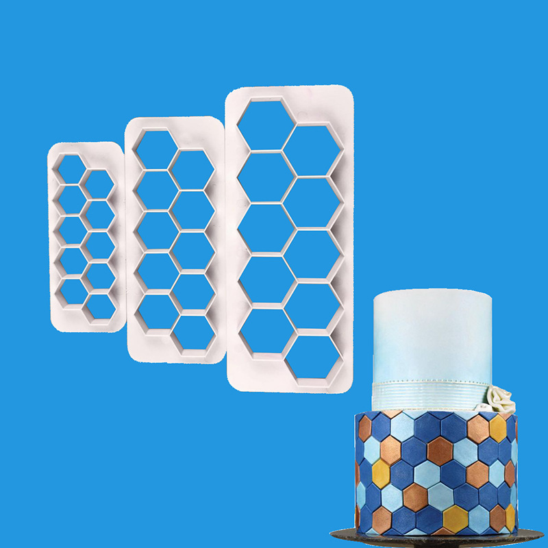 3pcs Plastic Cutting Molds Hexagon Round Square Fish Scales Geometric Shape Clay Cutter Designer Diy Earring Pottery Tools Mega Discount 1e272 Cicig