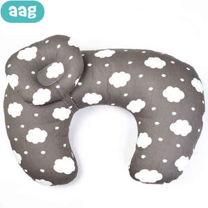 AAG Cotton Baby Nursing Pillow for Newborns U-Shaped Maternity Breastfeeding Pillows Infant Baby Feeding Waist Cushion Pillow