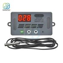 цена на DTC-331 DC 12V 10A LED Digital Temperature Controller Thermostat Temperature Control Switch Waterproof NTC Sensor Probe