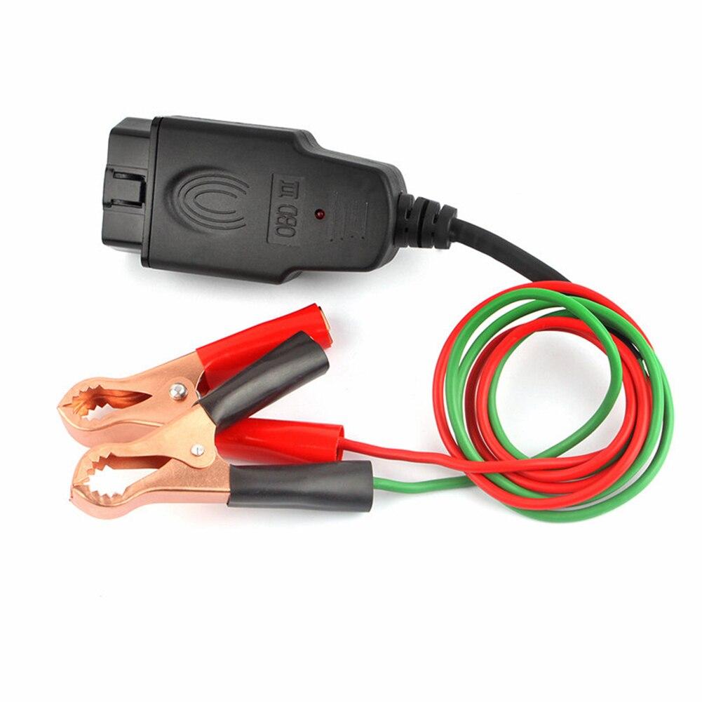 Cable de repuesto de batería de ahorro de memoria de ordenador de coche conector de herramienta de fuente de alimentación profesional enchufe eléctrico de automoción 2X soporte de taza de luz LED para coche automotriz Interior USB colorido atmósfera luces lámpara soporte de bebida antideslizante Mat Auto productos
