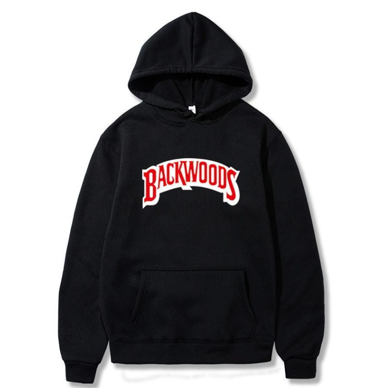 New Brand Men Sportswear Fashion brand Backwoods Print Mens hoodies Pullover Hip Hop Mens tracksuit Sweatshirts hoodie sweats