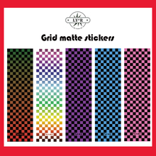 Deck Sticker Grip-Tape Skateboard Abrasive-Paper New Plaid Colorful 84--23cm Ly--R
