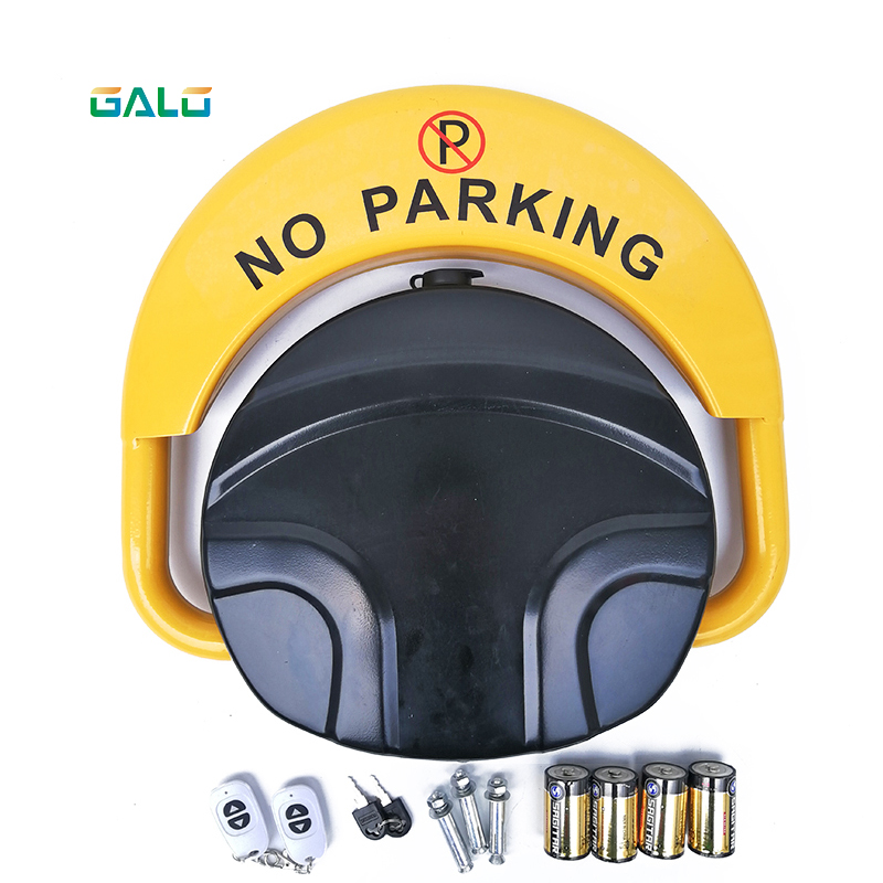 The Latest Intelligent Induction Dual Battery Parking Lock Waterproof Anti-collision Anti-theft Home Security Parking Barrier