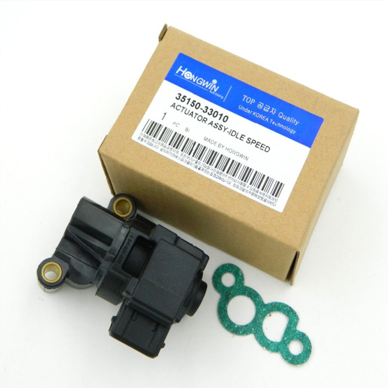 IDLE AIR CONTROL VALVE For Hyundai for Kia 2.4 2.5 2.7L 1999-2010 <font><b>35150</b></font>-<font><b>33010</b></font>/0280140571/<font><b>35150</b></font> <font><b>33010</b></font>/3515033010/0k9A2-20660A image