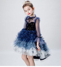 Ball Gown Navy Burgundy Flower Girl Dresses 2019 Beaed Applique Girls Pageant Dress First Communion Dresses Party Gown 2018 pink flower girls dresses spaghetti straps ball gown ruffles organza pageant dress for girls long girl dresses for wedding