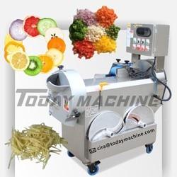 vegetable slicing chopping machine / mini fruit slicing machine / mini fruit chopping machine