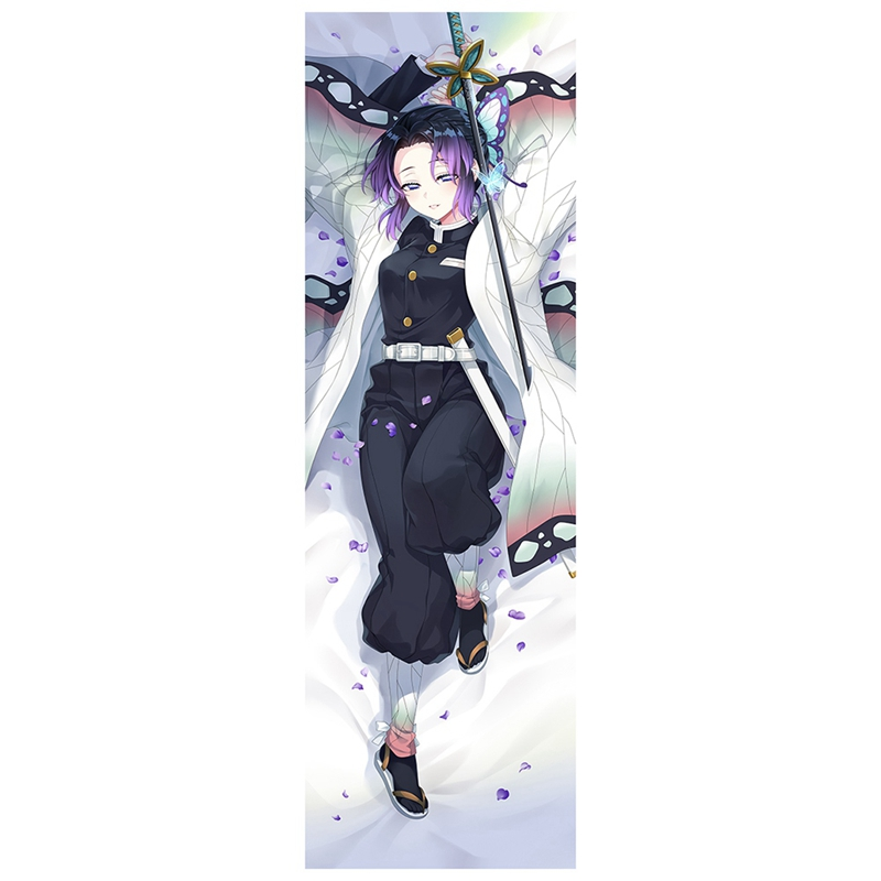 Design Dakimakura Demon Slayer: Kimetsu No Yaiba Anime Kochou Shinobu Dakimakura Hugging Pillow Case Kamado Nezuko