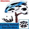 Kingbike 2019 novo design preto capacetes de bicicleta mtb mountain road ciclismo capacete da bicicleta casco ciclismo tamanho L-XL 17