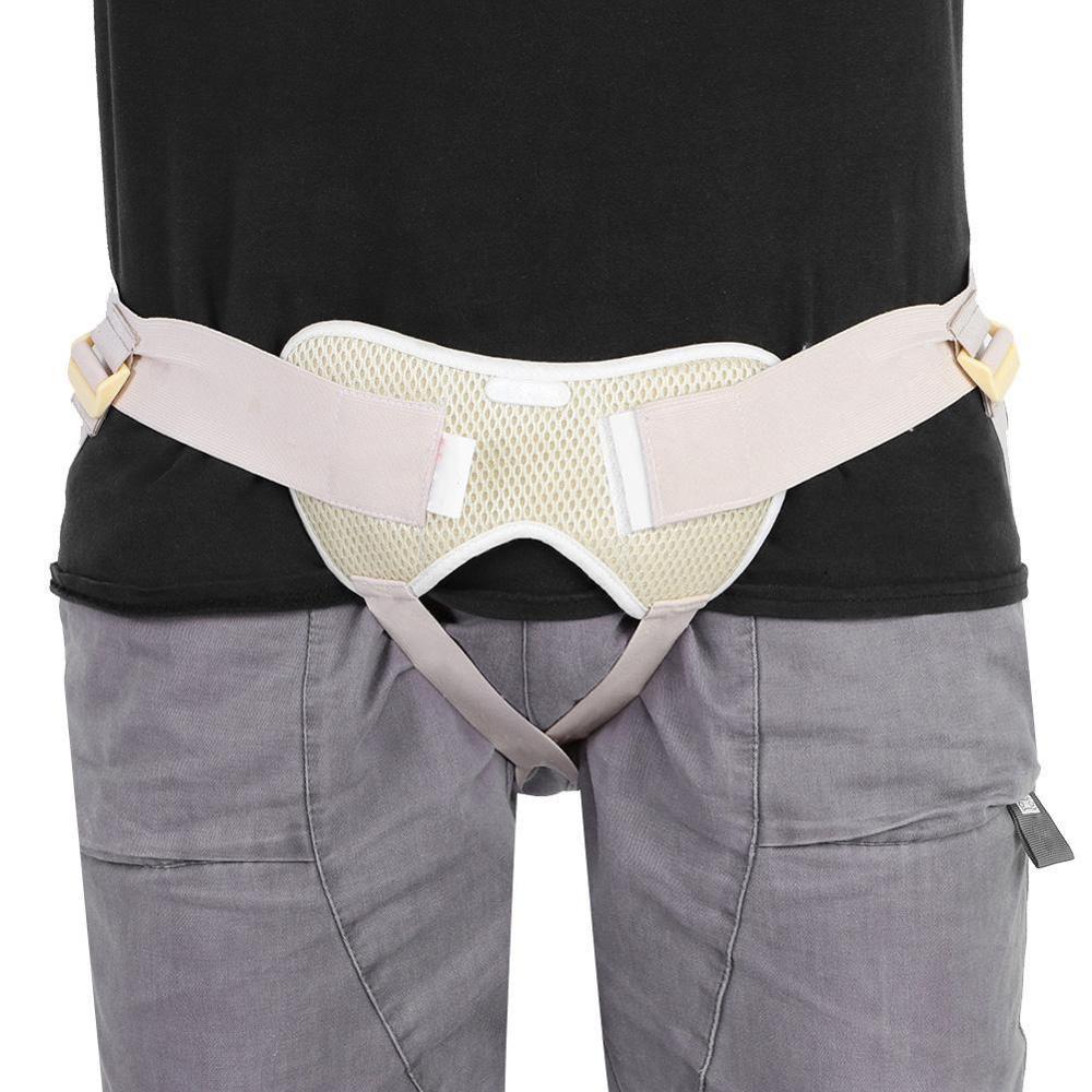 Adjustable Umbilical Inguinal Hernia Belt Groin Support Inflatable Hernia Treatment For Adult Elderly Release Pain Medicine Bag