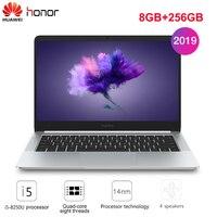 2019 Original HUAWEI Honor MagicBook Laptop 14'' Windows 10 Home I5 8250U Quad Core NVIDIA GeForce MX150 8GB+256GB Notebook HDMI