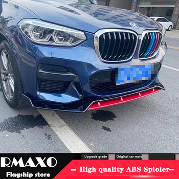 For BMW X4 Body kit spoiler 2018-2020 For BMW X3 X4 G01 G02 ABS Rear lip rear spoiler front Bumper Diffuser Bumpers Protector image