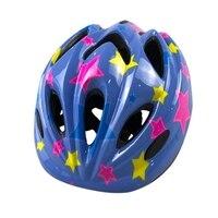 Capacete de patinação das crianças com luz integrado moldagem equilíbrio skate carro bicicleta equitação esportes capacete
