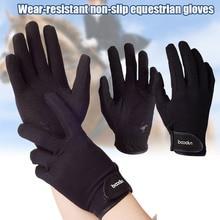 Профессиональные перчатки для верховой езды, перчатки для верховой езды для мужчин и женщин, легкие дышащие THJ99