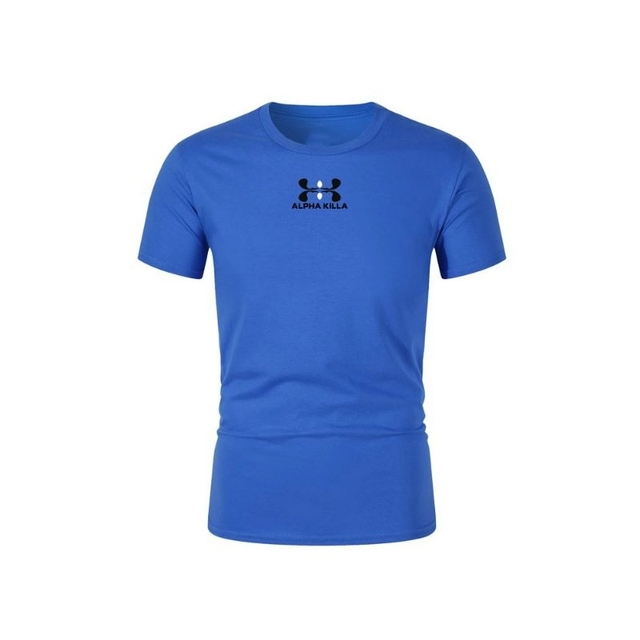 2021 Summer Brand Printed T-shirt Men Casual Men's T-shirt Multicolor Sleeve Casual T-shirt Top Standard Size XS-2XL 2