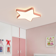 LED light Energy saving dimmable starry five-star ceiling light led boys and girls cartoon room lamps 36W 48W LED light