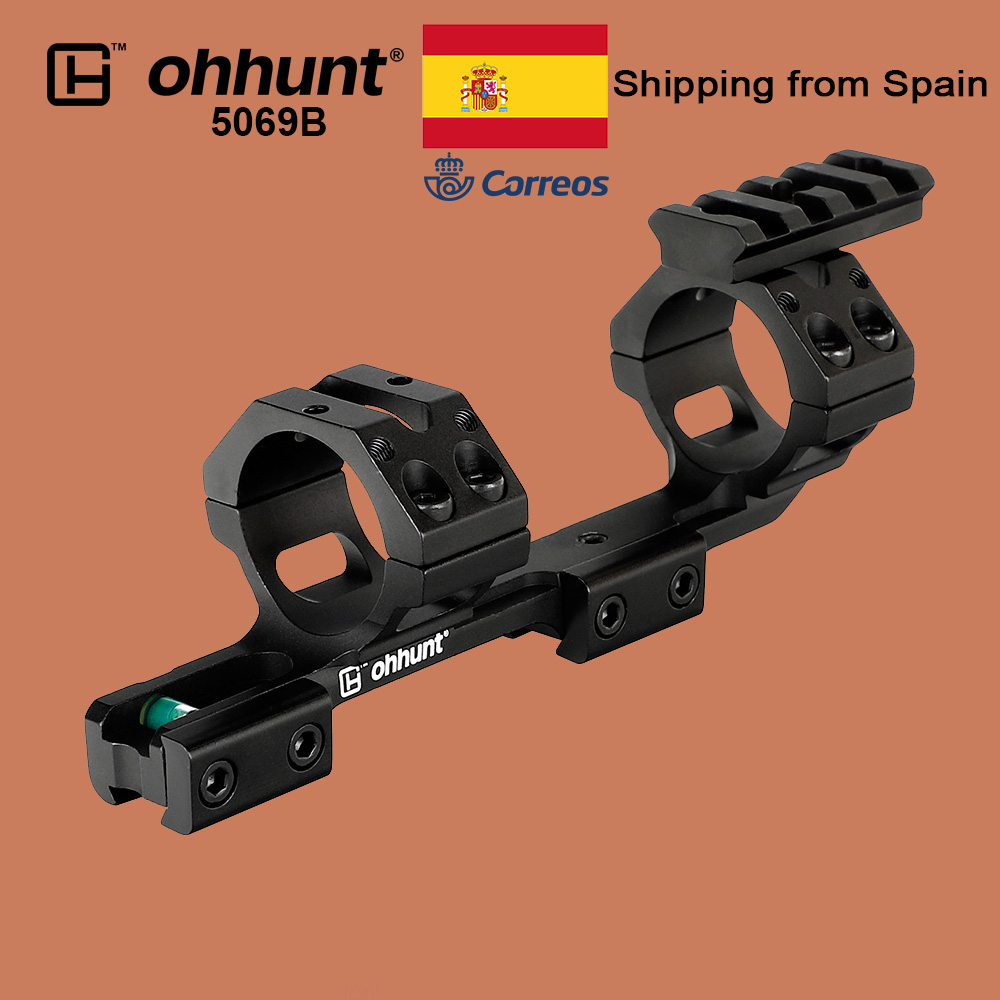 Ohhunt Hunting 11mm Riflescope Mount 25.4mm 30mm Bi-direction Offset Rings 3/8