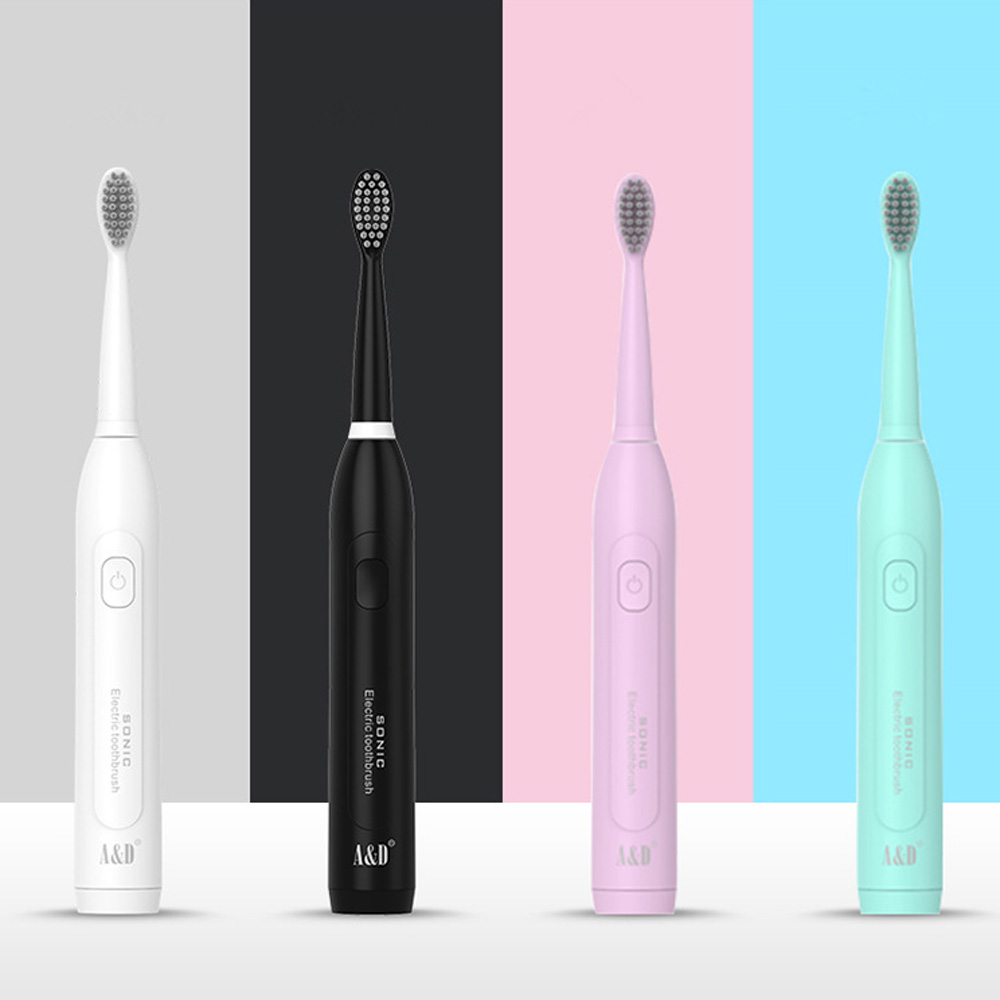 Electric Toothbrush Sonic Wave Rechargeable Top Quality Smart Chip Toothbrush Head Replaceable Whitening Healthy Best Gift image