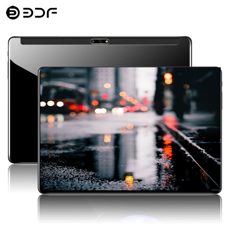 10.1 Inch Tablet PC Android 7.0 3G Phone Call 4GB+64GB Support Google Play Octa Core 1.5GHz Dual SIM WiFi GPS Tablet PC10/8/9