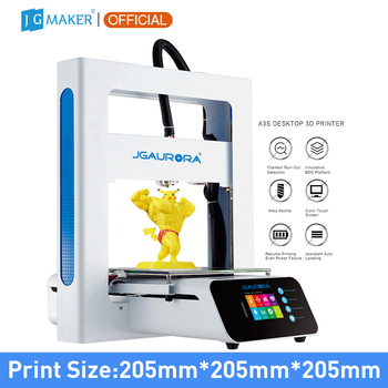 JGAURORA A3S 3D Printer Updated Prusa Ramps with Large Build Size, Ship from Factory Directly or USA/UK/Germany/Russia Warehouse