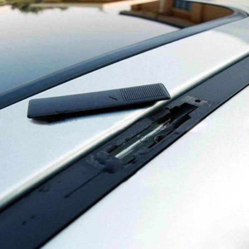 4 Pcs Rel Atap untuk Mazda 3 6 2 Hitam Pengganti Set Moulding CX5 CX7 CX9 Dijual Alat Menggantikan Saham mobil Atap Rel Rak Penutup Klip
