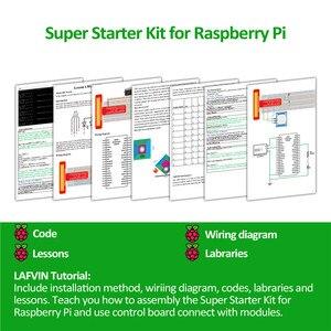 Image 2 - LAFVIN Super Starter Kit für Raspberry Pi, modell 3B + 3B 3A + 2B 1B + 1A + Null W + Diy Kit