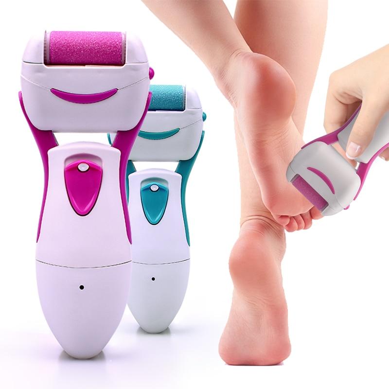 Outils de pédicure électrique outil de soin des pieds dur sec cuticule morte dissolvant de peau pédicure soin meulage fichier de pied pour peau de talon de pied