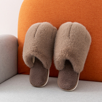 Autumn Winter Woman Cartoon Animal Lovely Cat Paw Indoor Warm Nonslip Slippers Couple Plus Velvet Slippers Cotton House Slippers