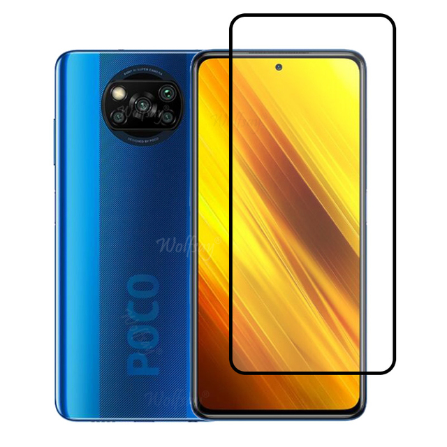 Full Cover Tempered Glass For Xiaomi Poco X3 NFC Screen Protector For Xiaomi Poco X3 NFC Camera Glass For Xiaomi Poco X3 Glass 2