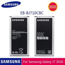 SAMSUNG Original Phone Battery EB-BJ710CBC 3300mAh For Samsung Galaxy J7 2016 Edition J710 J710F J710FN J710M J710H J7 2016 DUOS стоимость