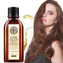 60ml Brand Multi-functional Hair & Scalp Treatments Hair Care Moroccan Pure Argan Oil Hair Essential Oil For Dry Hair Types(China)