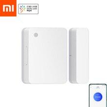 Xiaomi датчик двери окна 2 интеллигентая (ый) мини дверной датчик карманный размер умный дом автоматического управления Xiaomi Smart mi Home приложение
