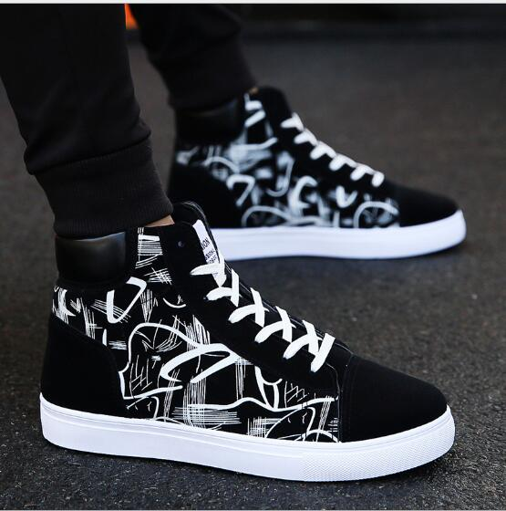 2019 New Men's Shoes Spring And Autumn Comfortable Quality High Shoes Men's Casual Shoes Breathable