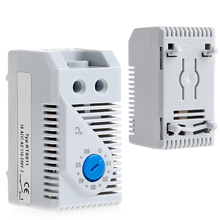 KTS011 0-60℃ Compact Mechanical Thermostat Sensor Temperature Controller NEW