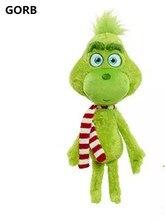 2019 New Arrival Movie Plush Toy Green Grumpy Dog Cut Cartoon Christmas Geek Stuffed Doll Toys Kids Gift 1pcs