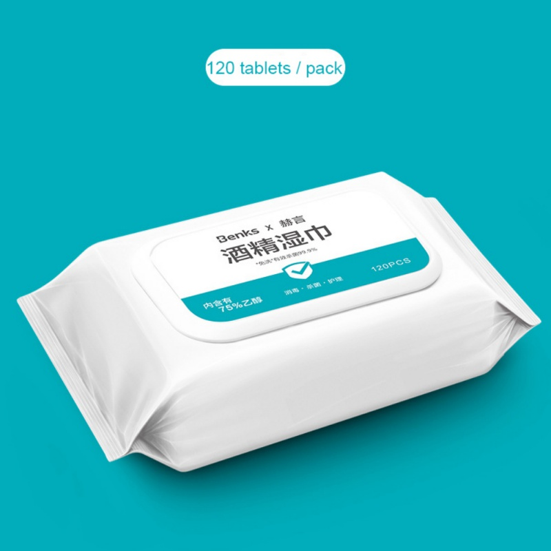 75% Alcohol Wipes Sterilization Portable Wipes Antibacterial Cleaning Home, Office, Travel Alcohol Wipes
