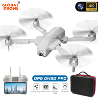 Professional GPS 4K drones with camera HD 4k Follow Me Wifi FPV RC Helicopter Dron Quadrocopter VS F11 S162 E520S SG906 PRO