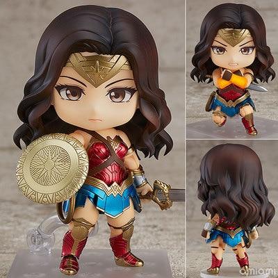Anime DC Justice League 818# Wonder Woman Hero's Edition Cute Figure Model Toys