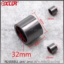 Junta de grafito para tubo de escape de motocicleta, Conector de junta de silenciador, 28mm, 32mm y 38mm