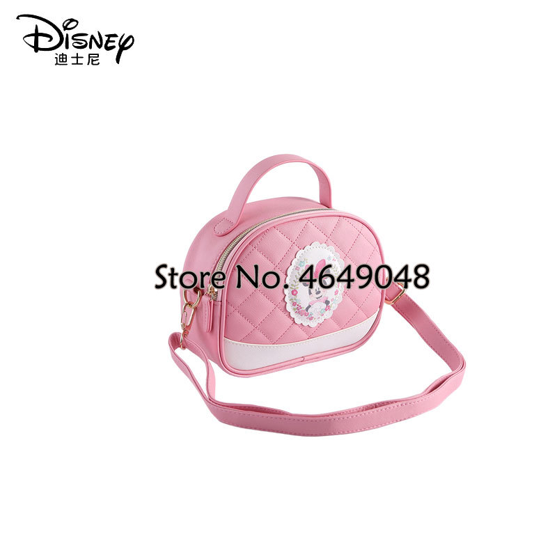 Disney Children Bag Minnie Messenger Bag Girls Shoulder Clutch Dual-use Small Bag Cute Pink Bag Kids bag For girls Shopping Bag