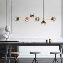 Nordic Design Dinning Room Chandelier Lighting luminaire suspension Glass Ball Hanging Light Fixture Modern Italy Chandelier