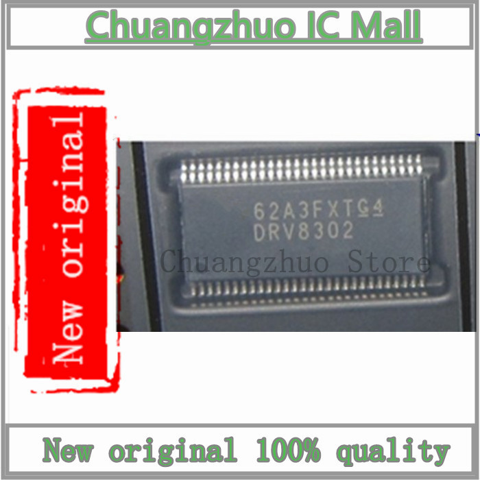 1PCS/lot  DRV8302 DRV8302DCAR HTSSOP-56 IC Chip New Original
