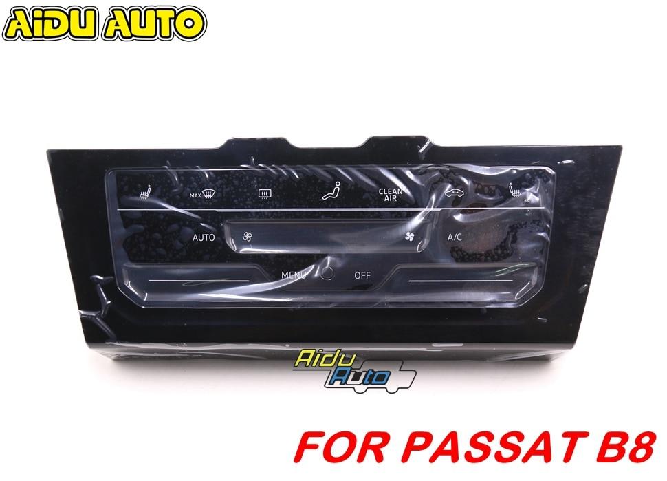 Для VW Passat B8 Golf 7,5 MK7 Arteon Tiguan MK2 светодиодный ЖК-жидкокристаллический переключатель кондиционера