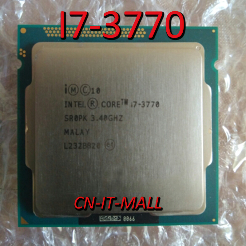 Intel <font><b>Core</b></font> <font><b>i7</b></font>-<font><b>3770</b></font> 3.4GHz Quad-<font><b>Core</b></font> Processor image