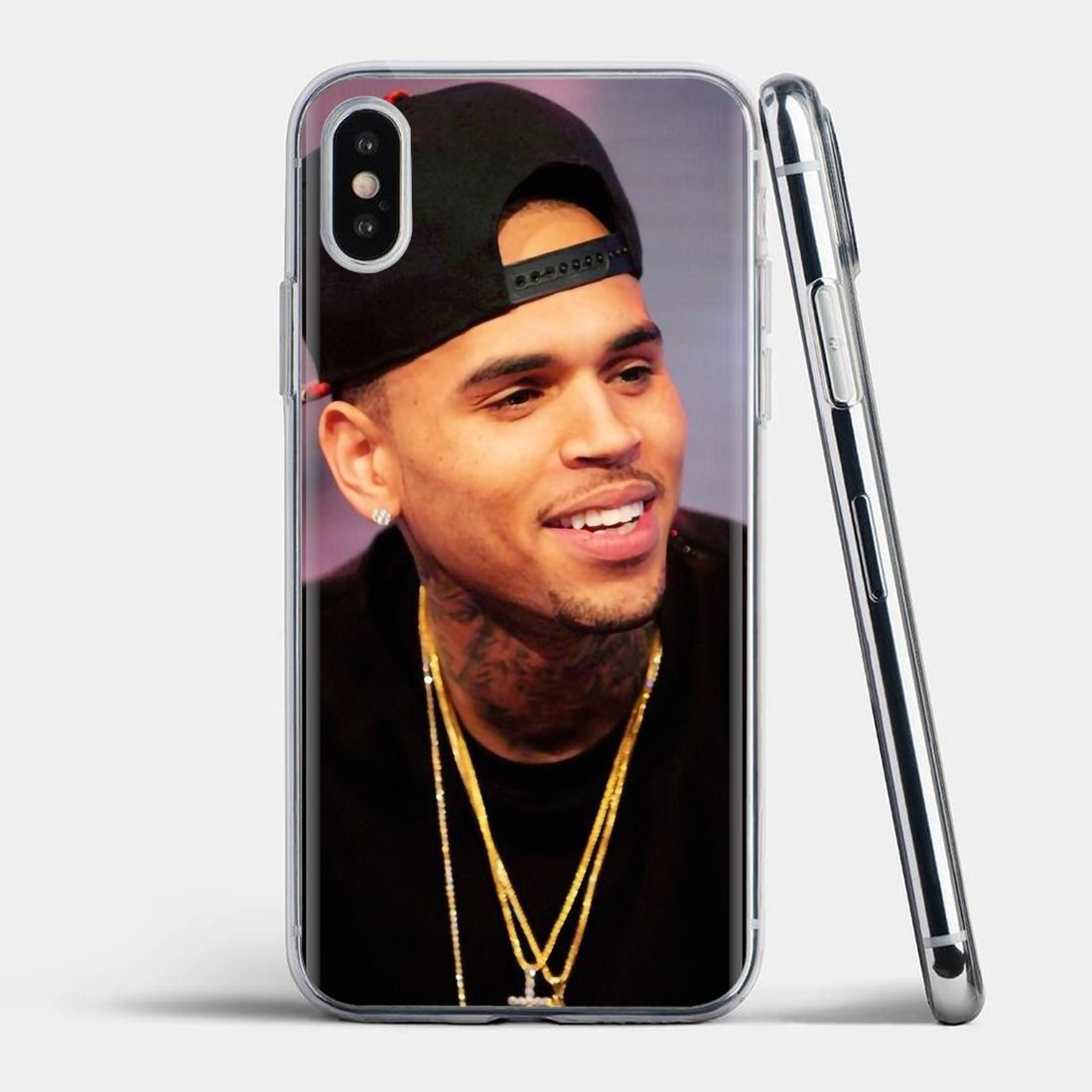Chris Brown 1 Case Phone Case for IPhone XS Max Samsung S10 LG GOOGLE IPOD
