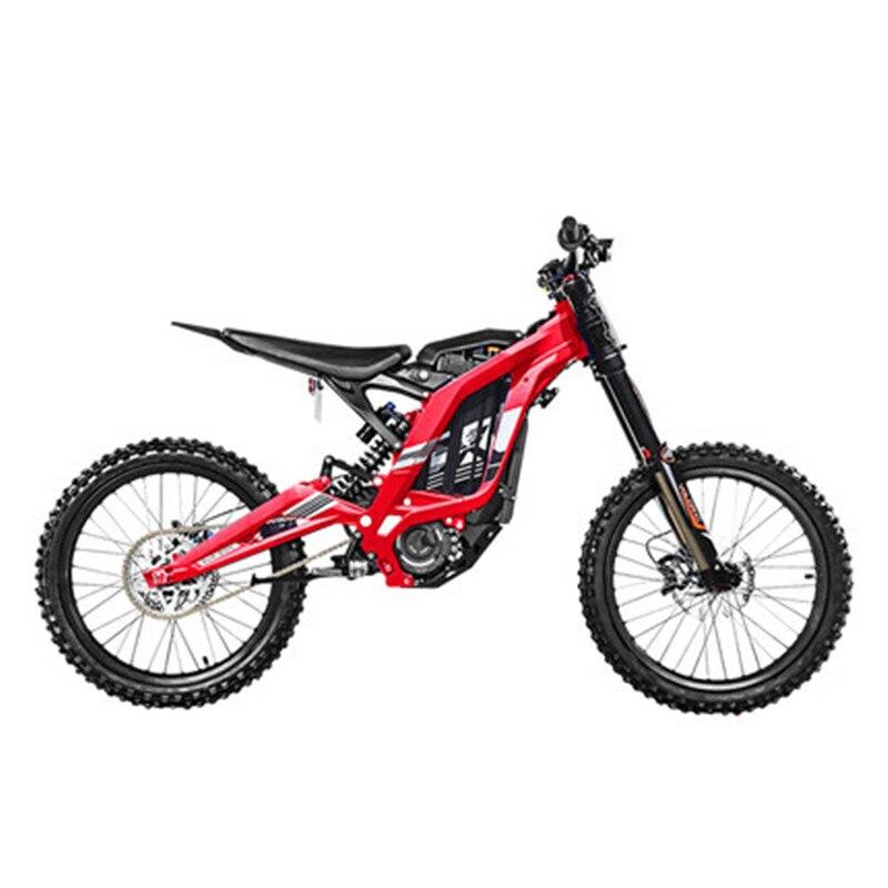 Bicicleta de Montaña de montaña eléctrica bicicleta de montaña todo aluminio cuerpo 45 grados alto par 60 V/ 32Ah/5400w - 2
