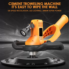 Wall-Smoothing-Machine Drill-Mixer Trowel Cement Concrete Adjustable with 1700W Electric