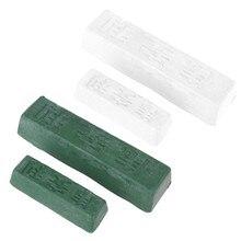 DIY ścierne polerowanie zielony biały związek Handmade dla DIY biżuteria metalowa ostrze noża szlifowanie wklej tlenek glinu