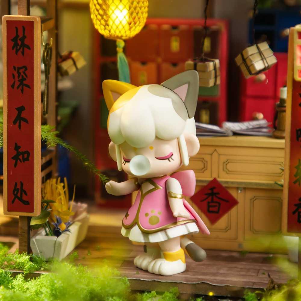 Robotime caja ciega Nanci II acción Unboxing juguetes figura modelo muñecas exótico regalo especial para niños, niños, adultos
