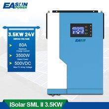 3,5 KW Hybrid Solar Inverter MPPT Rein Sinus Welle 100A Solar Laderegler 24V 220V 50Hz/60Hz Off Grid Inverter Mit Wifi Modus